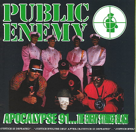 APOCALYPSE '91...ENEMY STRIKES BACK BY PUBLIC ENEMY (CD)
